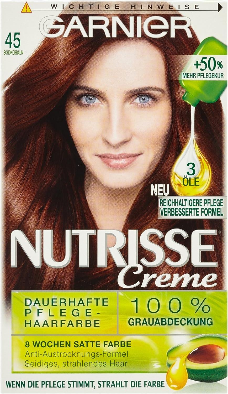 Garnier nutrisse Crema coloration marrón 45 de chocolate ...