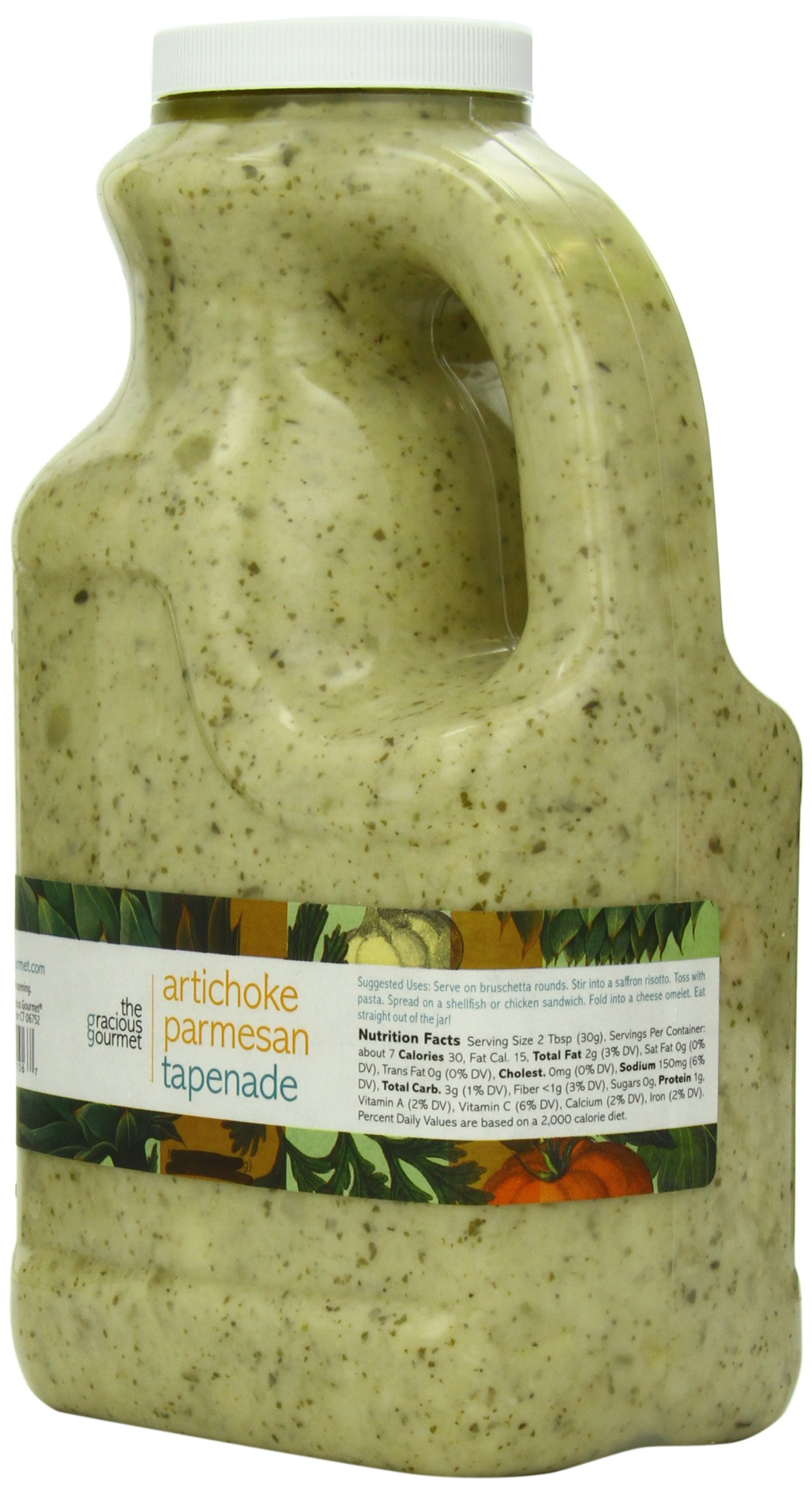 The Gracious Gourmet Artichoke Parmesan Tapenade, 76-Ounce by The Gracious Gourmet (Image #4)