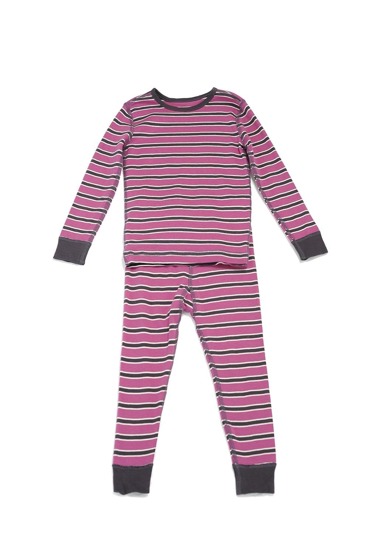 Skylar Luna ACCESSORY ユニセックスベビー 12 - 18 Months Dark Pink/Taupe Stripe B0091XY0FI