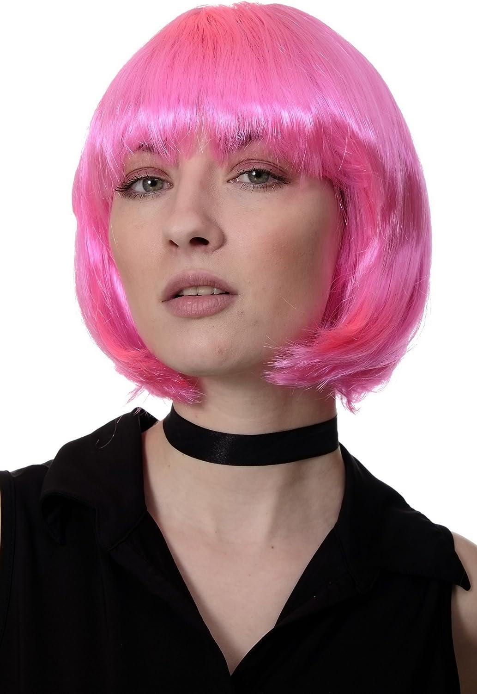 Corta /& Impertinente PW0114-P08 porpora WIG ME UP /® Bellissimo Parrucca da Party Disco Caschetto
