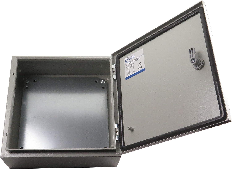 "Yuco YC-20X20X8-UL-FE Nema Type 4 IP66 Enclosure Fully Enclosed 20/"" 20/"" 8/"""