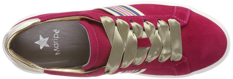 Maripé Damen Sneaker 26210-p Sneaker Damen Pink (Camoscio Azalea) aeb0f4