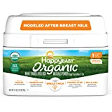Happy Baby Organics Infant Formula, Milk Based Powder with Iron Stage 1, 21 Ounce (Pack of 1) packaging may vary