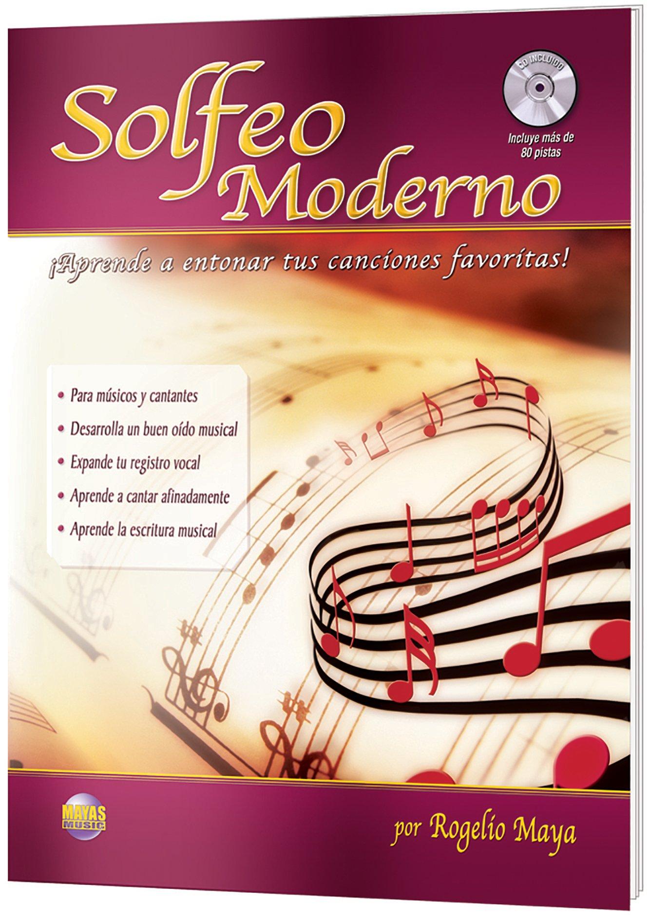 Solfeo Moderno: Aprende a entonar tus canciones favoritas!: Amazon ...