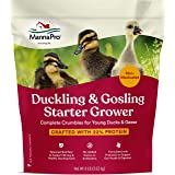 Manna Pro Duck Starter Grower Crumble   Non-Medicated Feed for Young Ducks   Supports Healthy Digestion