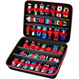 Toy Storage Organizer Case Compatible with Hot Wheels Car, Matchbox Cars, Portable Carrying Container Carrier Holder Fit for