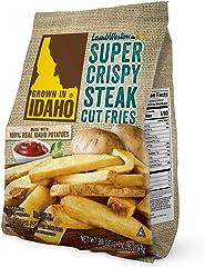 Grown in Idaho Super Crispy Steak Cut Fries, 28 oz (Frozen)
