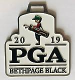 2019 Pga golf Bag Tag bethpage black championship
