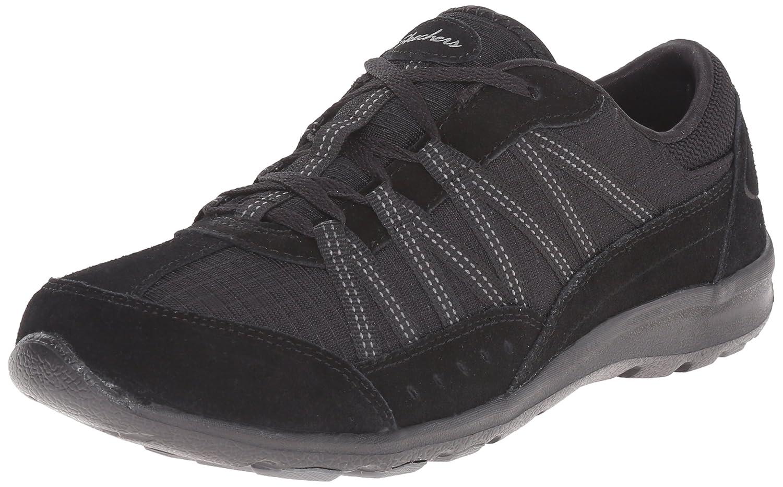 Skechers Sport Women's Dreamchaser Romantic Trail Skylark Fashion Sneaker B013UE428S 10 M US|Black Lace