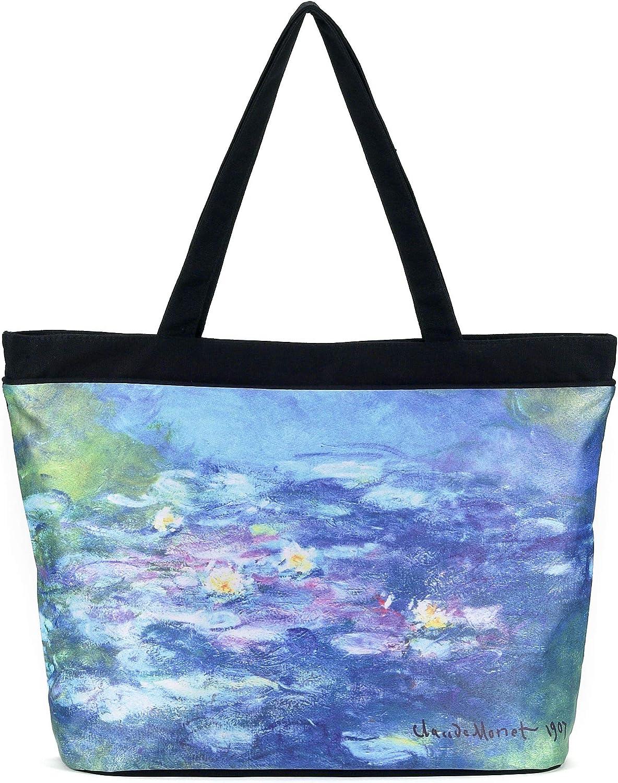 Claude Monet Garden Weekender Bag