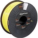 Amazon Basics PETG 3D Printer Filament, 1.75mm, Yellow, 1 kg Spool
