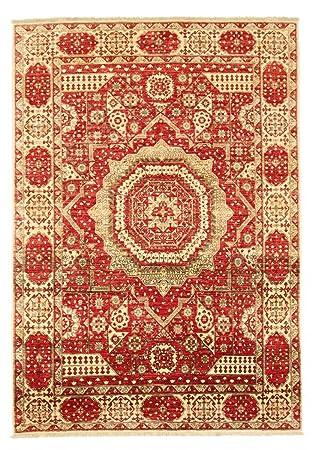 Nain Trading Mamluk 263x185 Orientteppich Teppich Beige Orange