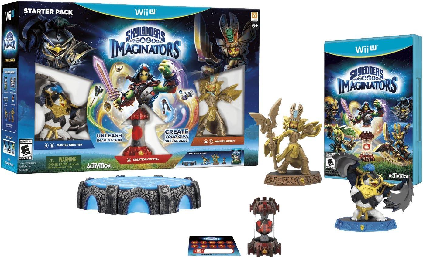 Activision Skylanders Imaginators Wii U - Juego (Wii U, RPG (juego de rol), Toys for Bob, 16/10/2016, E10 + (Everyone 10 +), English): Amazon.es: Videojuegos