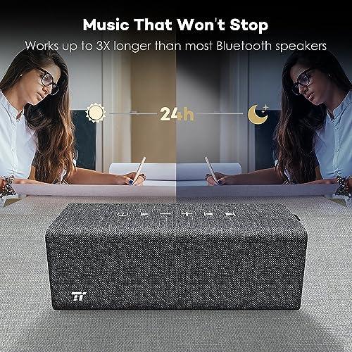 TaoTronics Rock Stereo Bluetooth Speaker