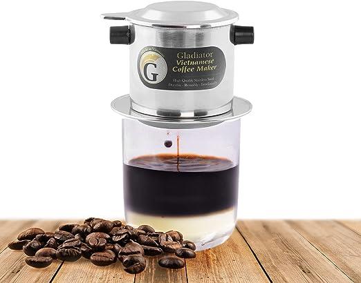 Amazon.com: Juego de filtros de cafetera vietnamita, filtros ...
