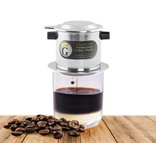 Juego de filtros para cafetera vietnamita, filtros de café estilo ...