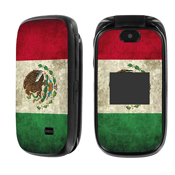half off 8fd75 e089c [AT&T] Z223 Skin [NakedShield] Scratch Guard Vinyl Skin Decal [Front and  Back]- [Flag Mexico] for [AT&T] ZTE Z223 [GoPhone]