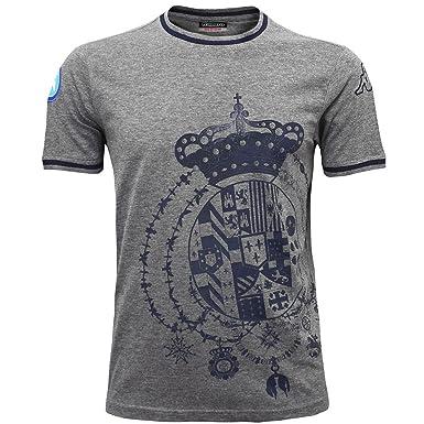 Kappa - Polo - para hombre gris Grey Dk Mel-Blue Mar XL: Amazon.es ...