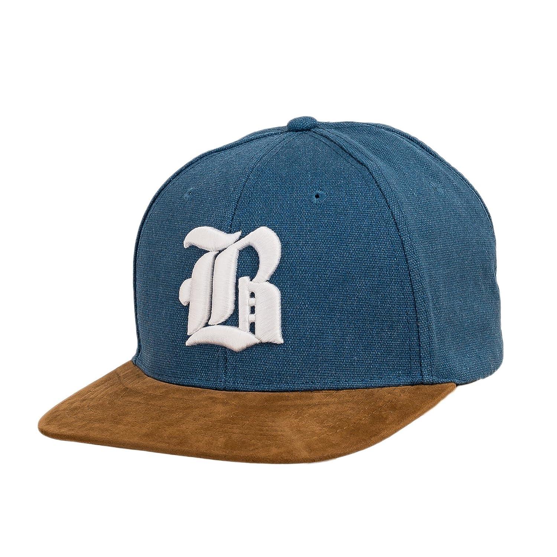 Snapback - Gorra de béisbol de tela y ante, diseño con logo en 3D ...