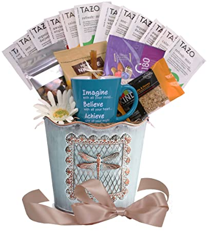 Image Unavailable. Image not available for. Color: Tazo Tea Time - Tea Lover's Gift Basket