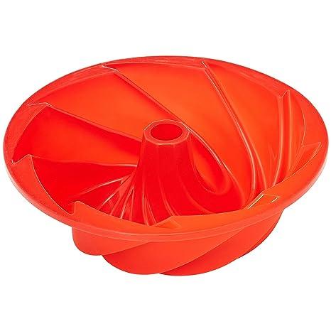 AmazonBasics - Molde de silicona para bizcocho bundt