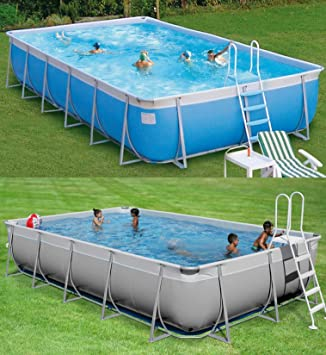New Plast Kit Futura 1000 - Piscina (Piscina con Anillo Hinchable ...
