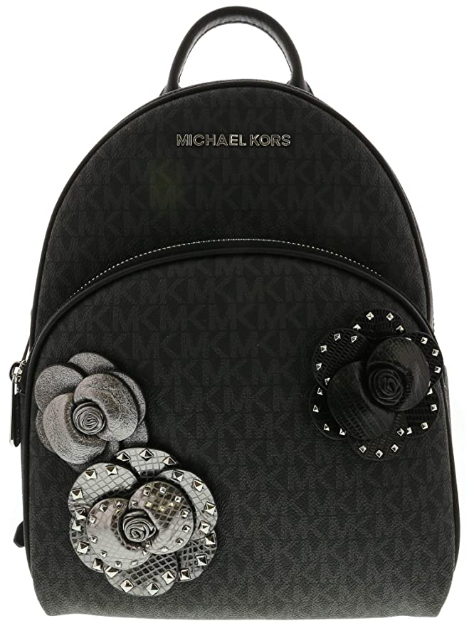 Amazon.com: Michael Kors Womens Abbey Medium Leather Backpack - Black: Michael Kors: Computers & Accessories