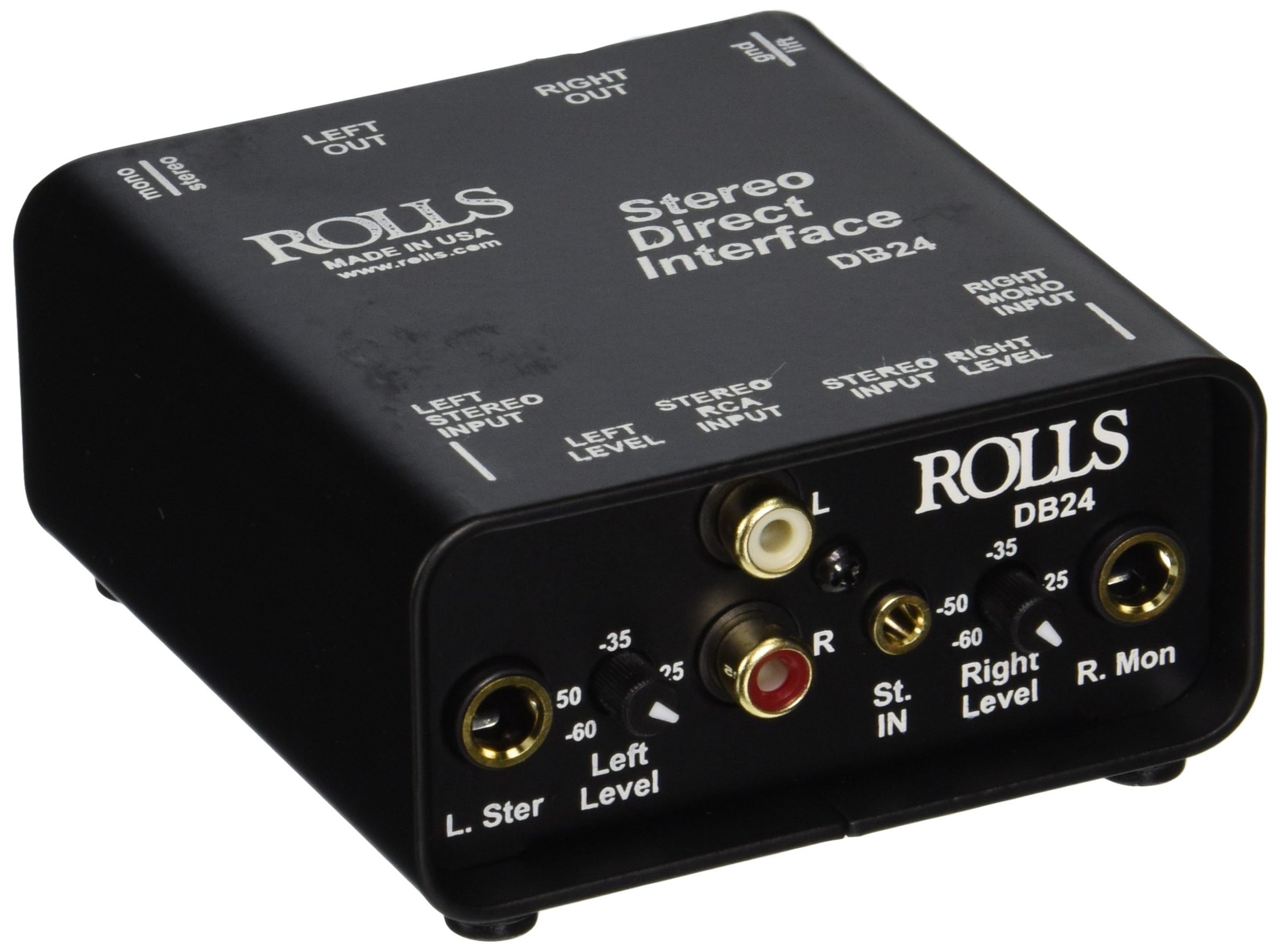 rolls DB24 Rolls Stereo Direct Interface