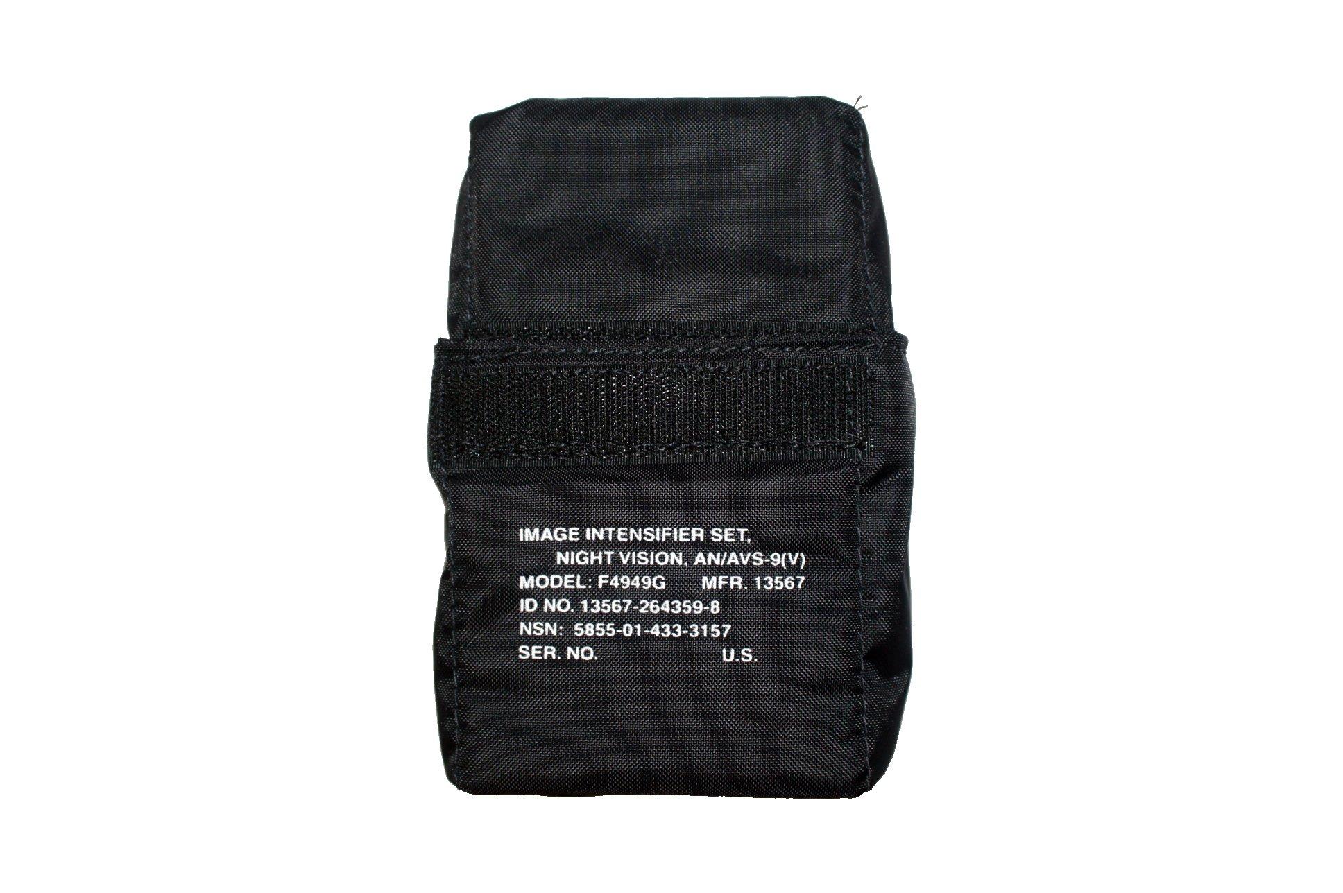 AN/AVS-9(V) F4949G ANVIS Night Vision Goggle NVG Black Carrying Case w/ Foam Cushion by ITT