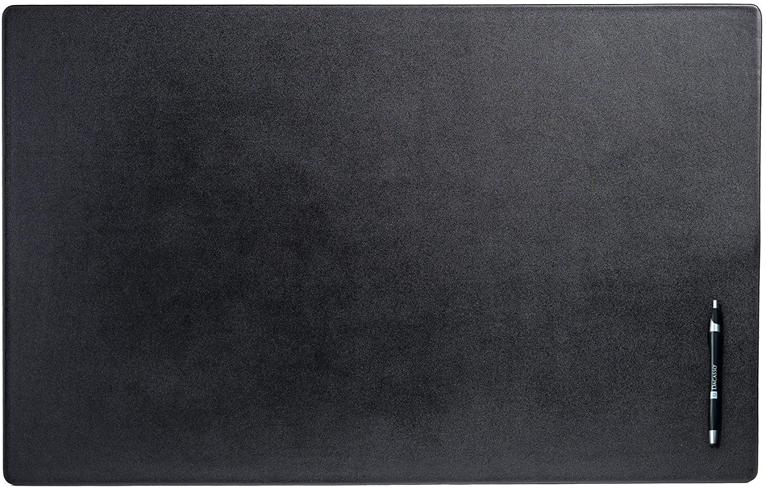 Dacasso Black Leather Desk Mat, 30-Inch by 19-Inch: Home & Kitchen