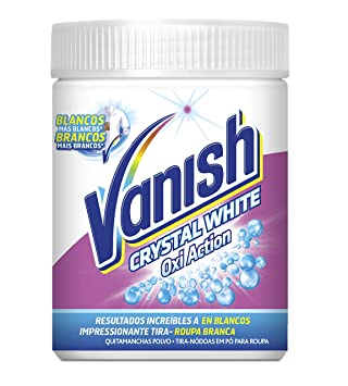 Vanish Quitamanchas Polvo Oxi Action Crystal White 1kg: Amazon.es: Amazon Pantry