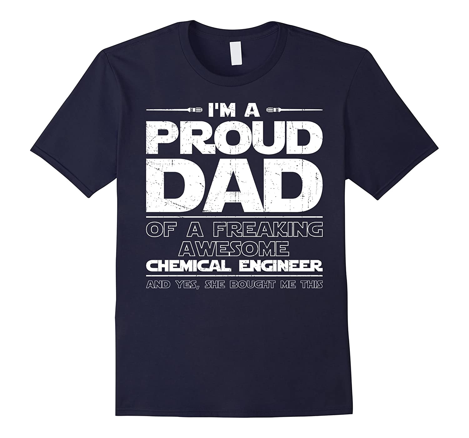 Chemical Engineer Dad T-shirt Gift For Chemical Engineer-Vaci