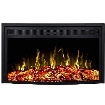Amazon.com: Regal Flame - Calefactor eléctrico curvado para ...