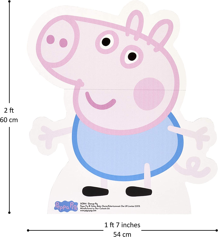 Amazon.com: Star Cutouts – Recortable de George Pig: Toys ...