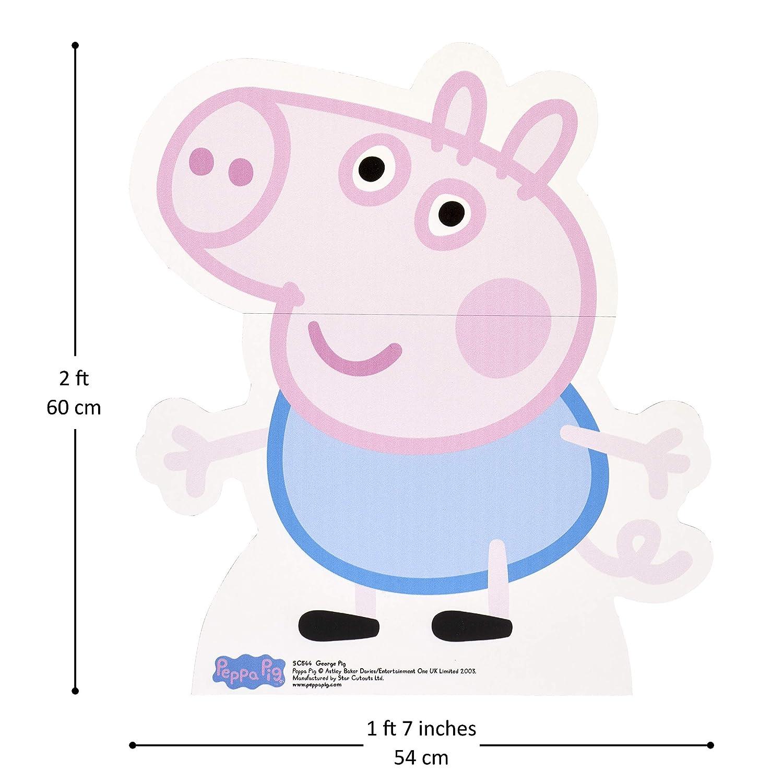 StarCutouts - Puzzle George Peppa Pig (SC544): Amazon.es: Juguetes y juegos