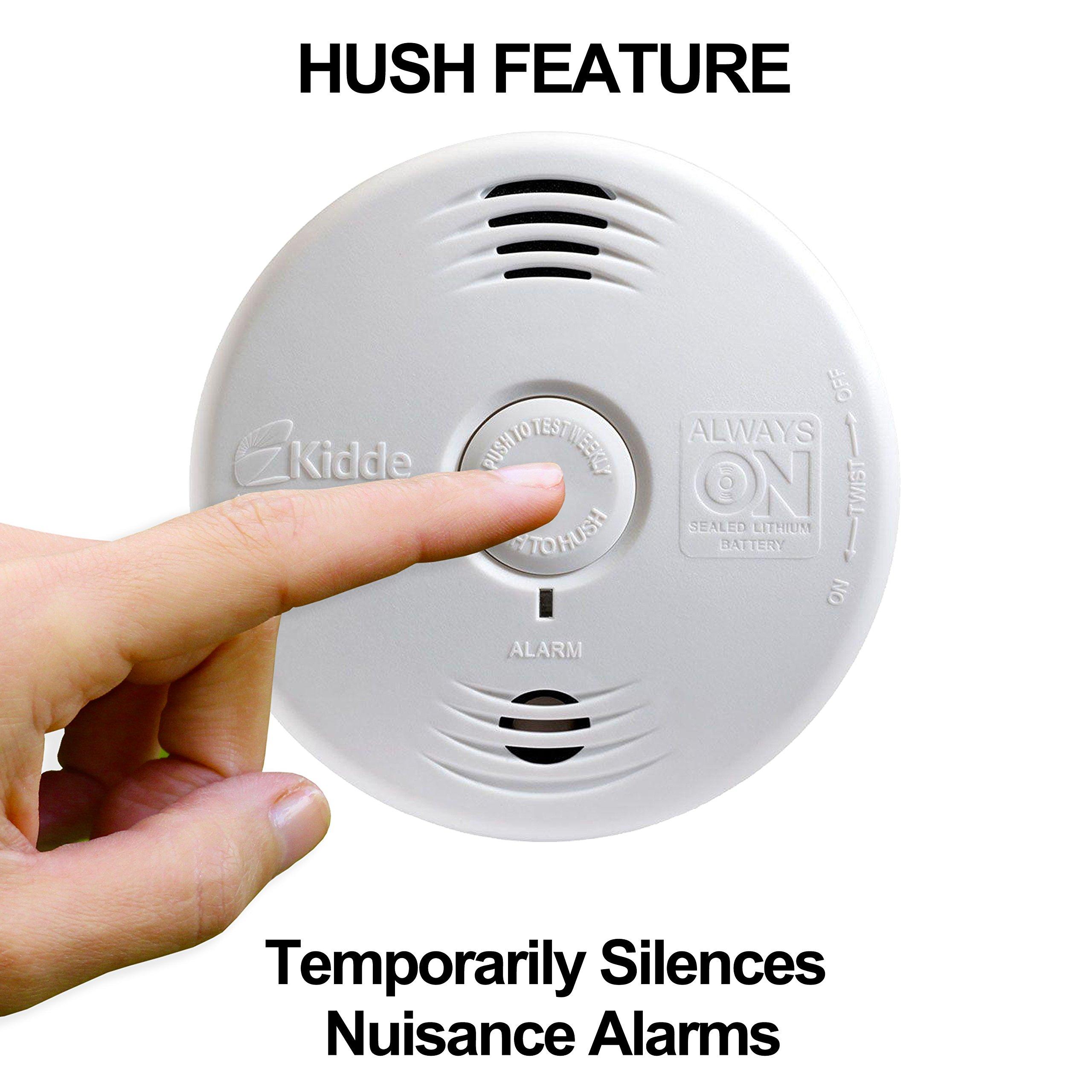 Worry-Free Hardwired Smoke & Carbon Monoxide Alarm with Lithium Battery Backup I12010SCO by Kidde (Image #4)