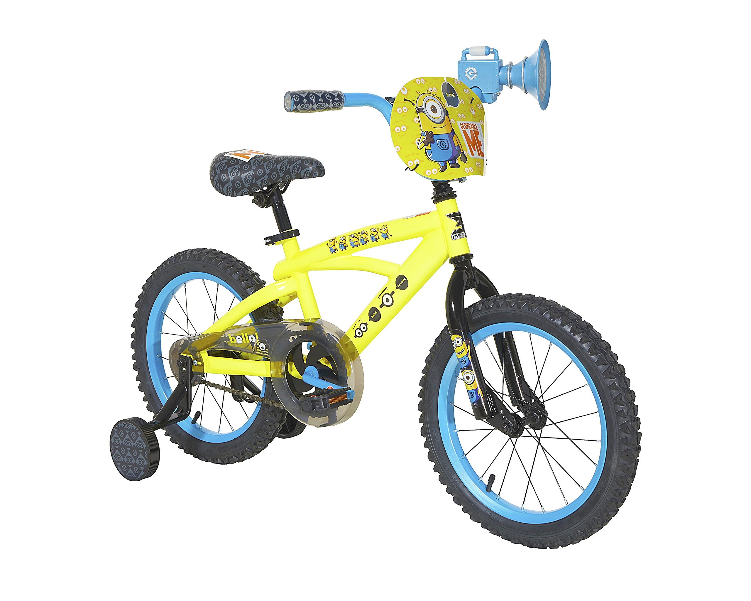 Minions Boys Dynacraft Bike, Yellow/Blue/Black, 16''
