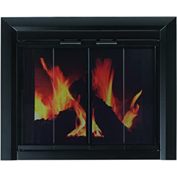Amazon Temco Bi Fold Glass Fireplace Door Easy To Install