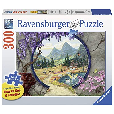 Ravensburger Into a New World 13576 300 Piece Large Pieces Jigsaw Puzzle for Adults, Every Piece is Unique, Softclick Technology Means Pieces Fit Together Perfectly: Toys & Games