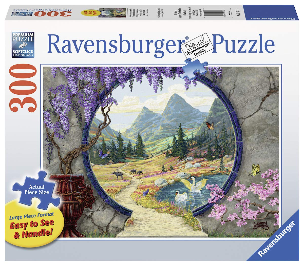 large piece jigsaw puzzles for seniors