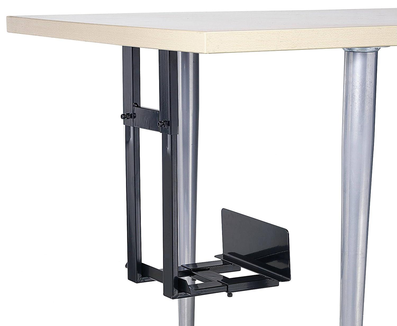 CE PC Halterung Unterbau, Vertikal, Horizontal IPH002.B IPH002.B Schwarz Belastbar bis Gewicht=15kg