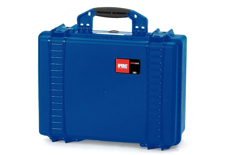 HPRC 2500F Hardcase (TX01 Material, 25 Liter Volumen, mit Schaumstoff zum Zuschneiden) blau
