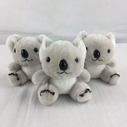 Amazon.com   Osye Stuffed Animals Koala Car Key Chain Women s ... 2e0084b38a