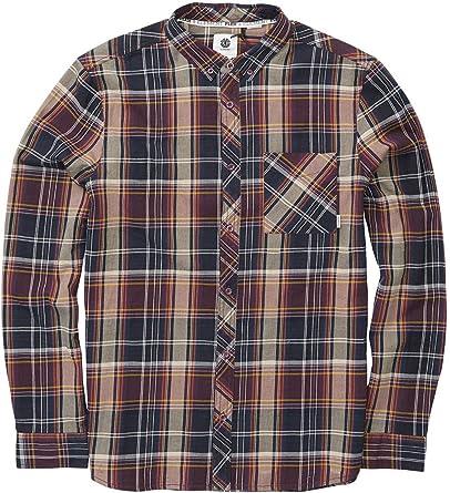 Element Buffalo - Camisa larga para hombre: Amazon.es: Ropa y accesorios
