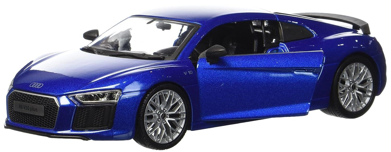 Maisto - 31513G - 31513A - Audi R8 V10 Plus - 2015 - Échelle 1/24 - Gris