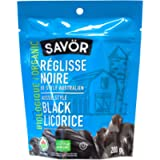 Savor Organic Black Licorice Aussie Style, 200 Grams
