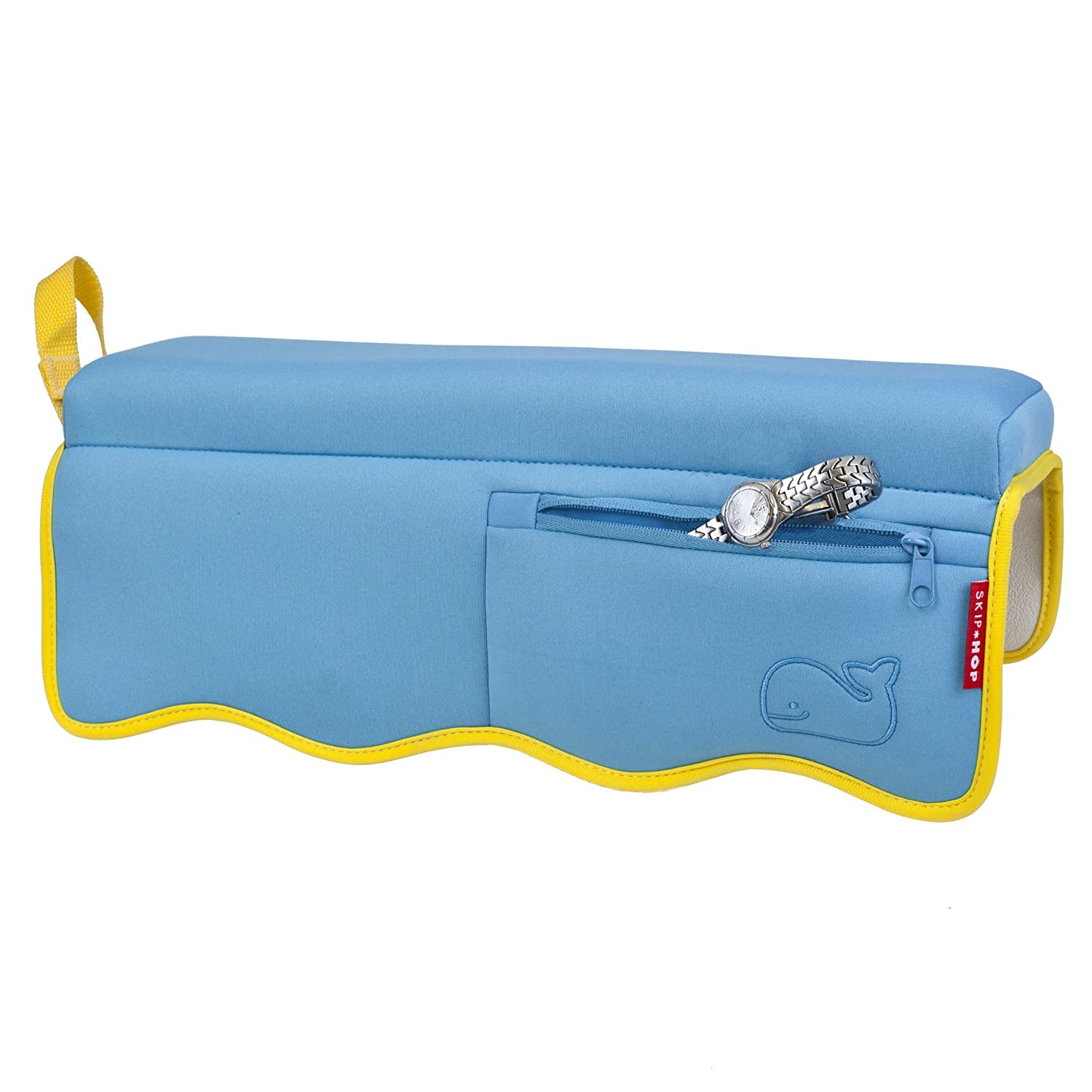 Amazon.com : Skip Hop Moby Baby Bath Elbow Rest, Blue : Bathtub Side ...
