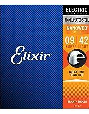 Elixir 12002 - Juego de cuerdas para guitarra eléctrica.009-0.042
