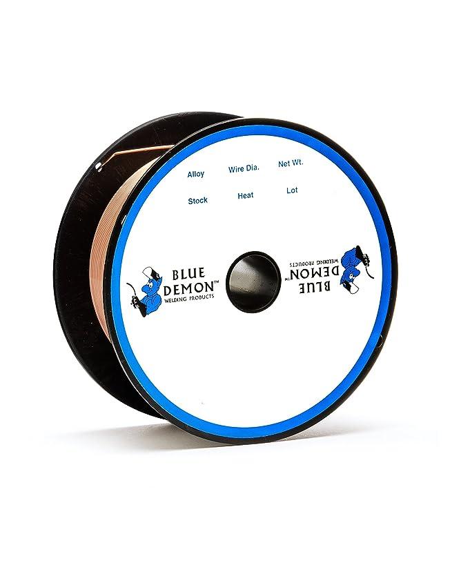 Blue Demon ER70S-6 x .035 x 44# Spool Carbon Steel Welding Wire ...