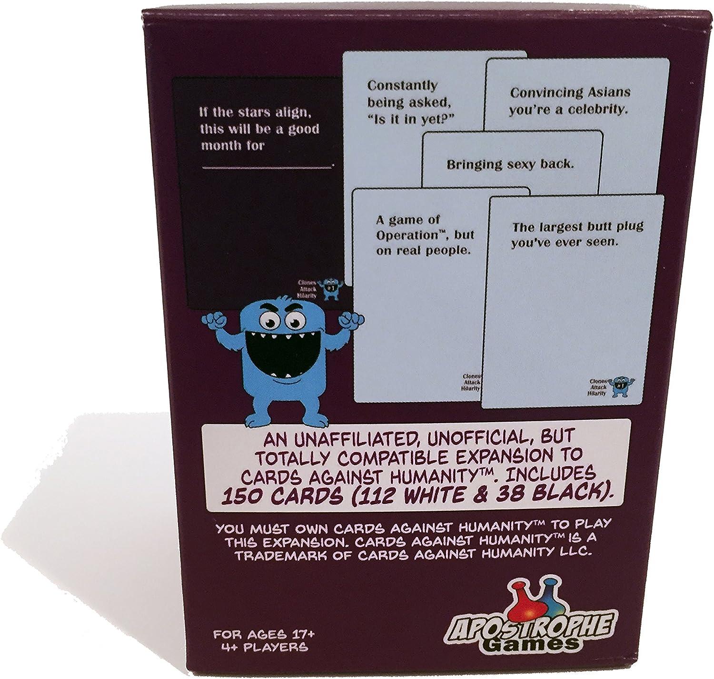 Apostrophe Games Clones Attack Hilarity, Paquete de expansión de 150 Cartas contra la Humanidad (Clones Attack Hilarity #1): Amazon.es: Juguetes y juegos